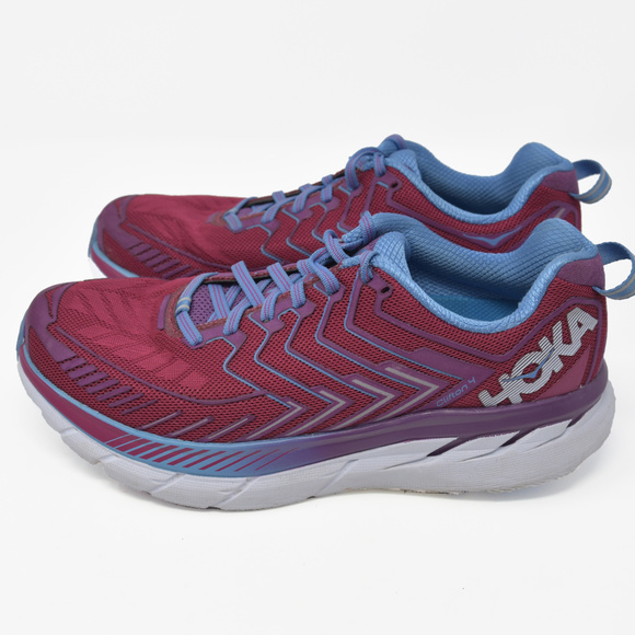 big sale 3b514 53f4a Hoka One One Clifton 4 Sz 9.5 Running Hiking Trail